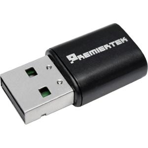 Premiertek 802.11a/b/g/n/ac Wireless USB 2.0 LAN Adapter 433Mbp PT-8811AU