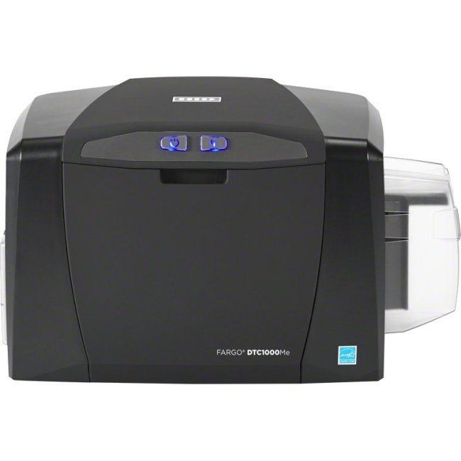 HID Monochrome ID Card Printer / Encoder Single Sided 53220 DTC1000ME