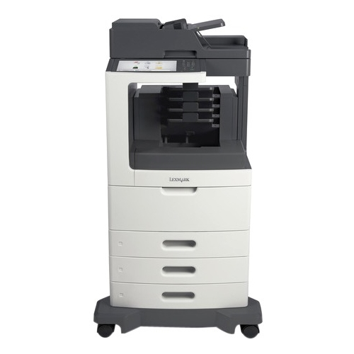 Lexmark Multifunction Laser Printer Government Compliant 24TT137 MX812DTPE
