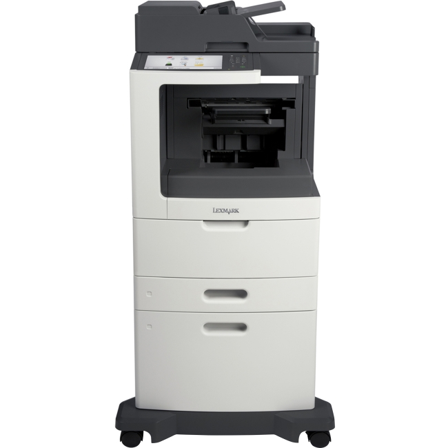 Lexmark Laser Multifunction Printer Government Compliant 24TT372 MX811DXPE