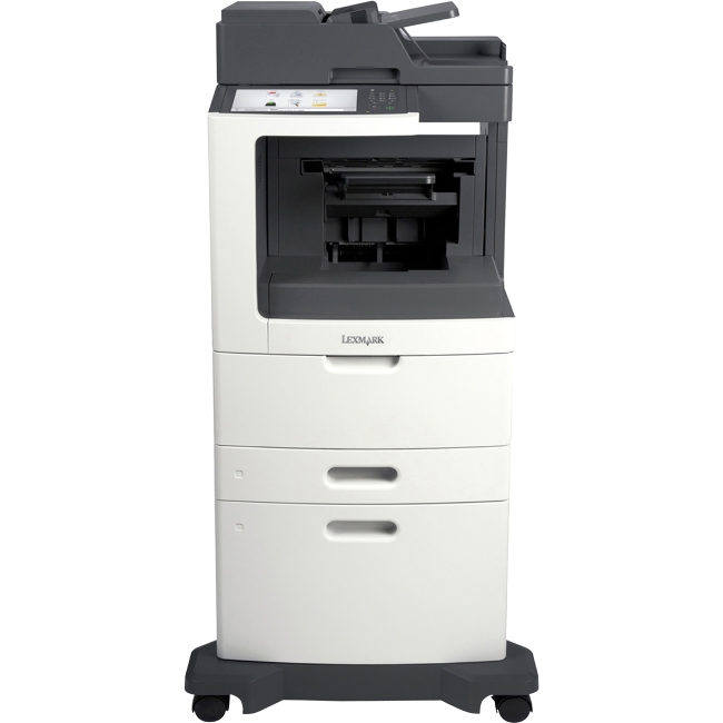 Lexmark Multifunction Laser Printer TAA Compliant 24TT384 MX812DXPE