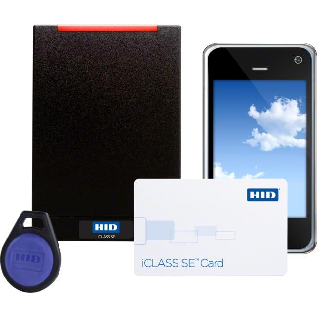 HID iCLASS SE Smart Card Reader 910LTNNAG00000 RP15