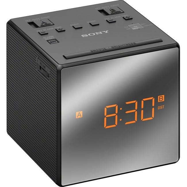 Sony Alarm Clock with FM/AM Radio ICFC1TBLACK