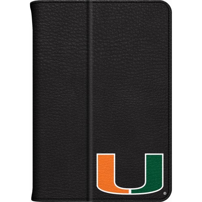 Centon iPad Mini Leather Folio Case University of Miami IPADMLC-MIA