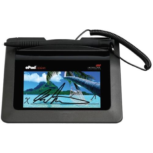 ePad-vision Signature Pad VP9808