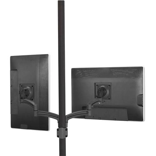 Chief KONTOUR K2P Pole Mount Articulating Arms, Dual Monitor K2P220B