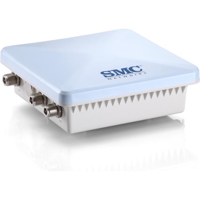 SMC 802.11a/b/g/n Outdoor Dual Band Wireless Access Point SMC2891W-AN