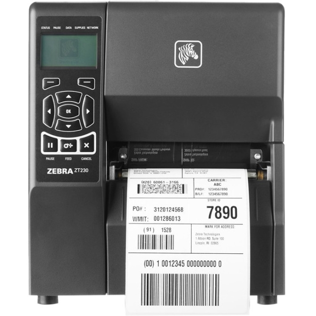 Zebra Industrial Printer ZT23043-D21200FZ ZT230