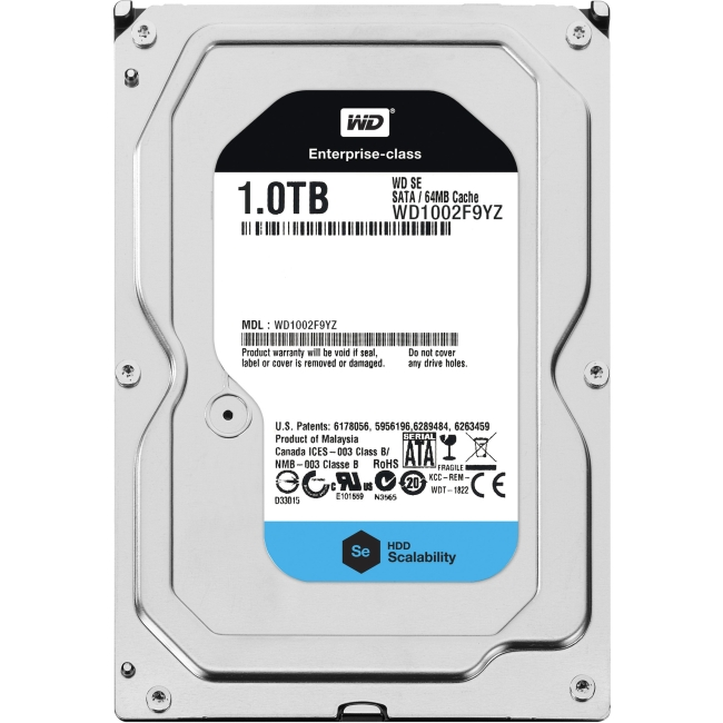 Western Digital Se Series Hard Drive WD1002F9YZ