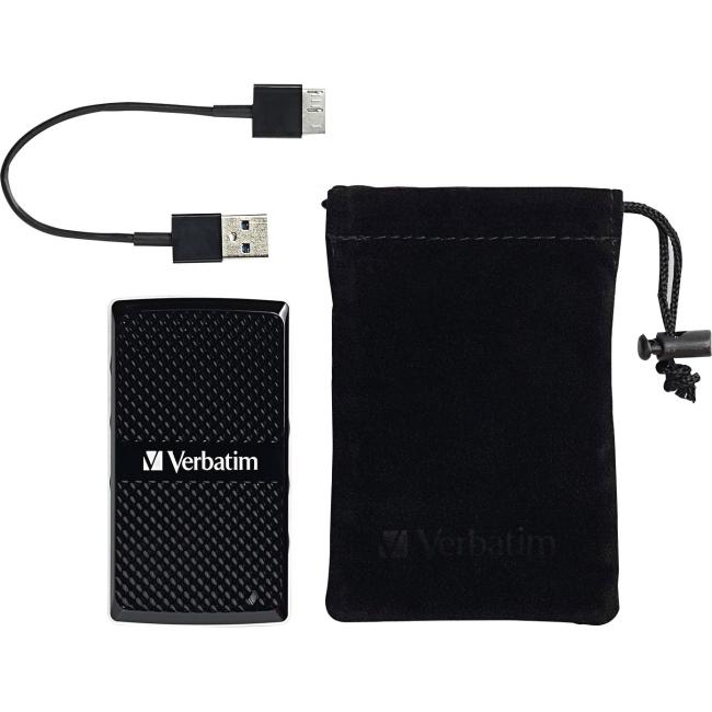 Verbatim 256GB External SSD 47681 Vx450