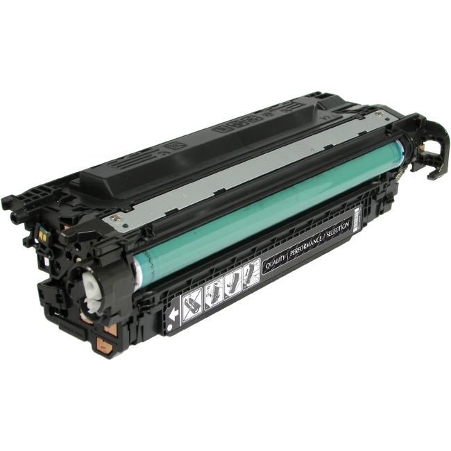 V7 Black Toner Cartridge, Black For HP Color LaserJet M551N, M551DN, M551XH; Col V7M551B