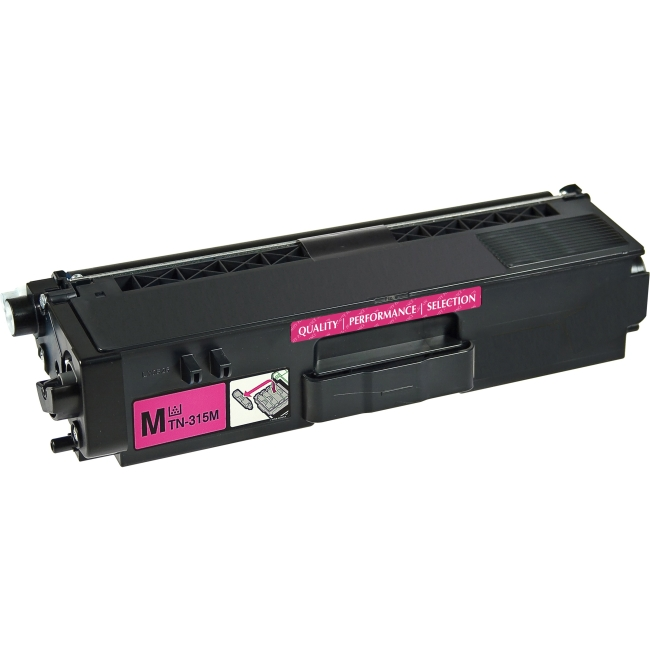 V7 Magenta Toner Cartridge, Magenta For Brother DCP-9050CDN, DCP-9055CDN, DCP-92 V7TN315M