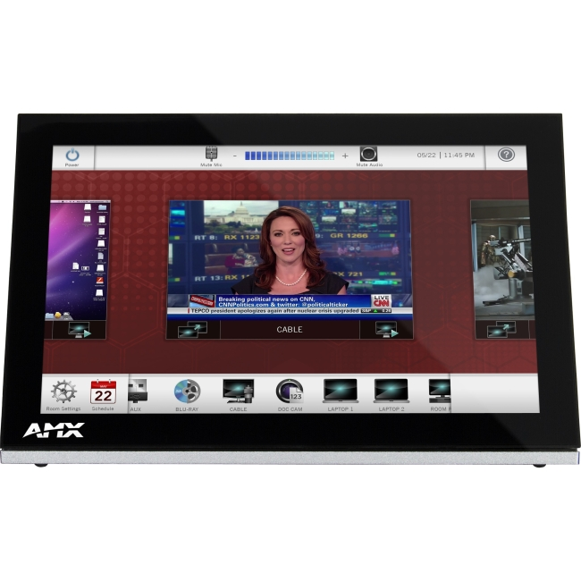 """AMX 10.1"""" Modero S Series Tabletop Touch Panel FG2265-05 MST-1001"""