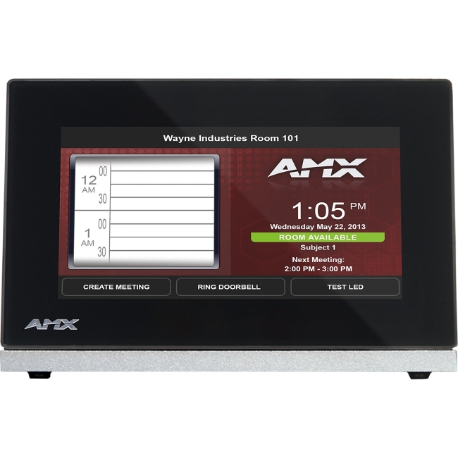 "AMX 4.3"" Modero S Series Tabletop Touch Panel FG2265-07 MST-431"
