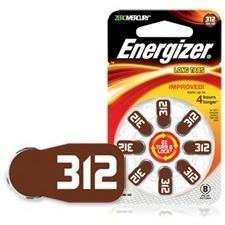 Energizer EZ Turn & Lock Size 312 AZ312DP-16