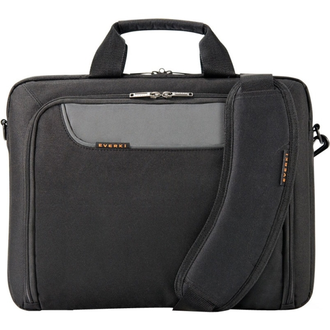 Everki Advance Laptop Bag - Briefcase, Fits Up To 14.1 EKB407NCH14