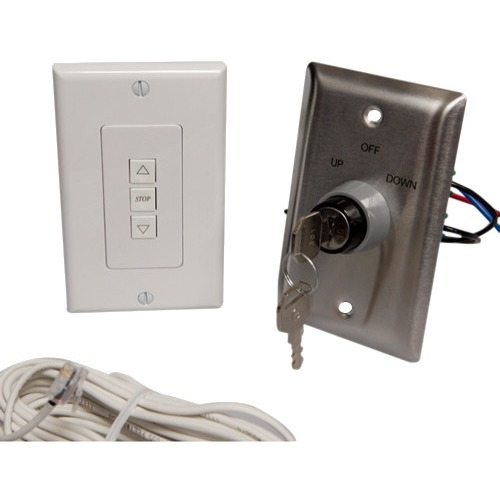 Draper ILT Single Station Low Voltage Key Wall Switch 121179