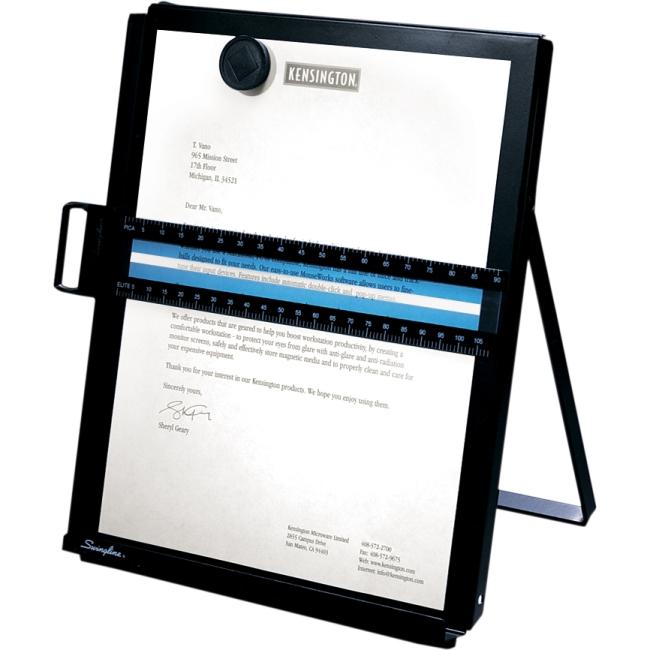 Kensington Metal Letter Size Copyholder S7062046B