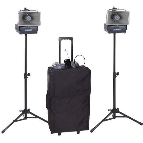 AmpliVox Wireless Speaker Half-Mile Hailer Kit SW640