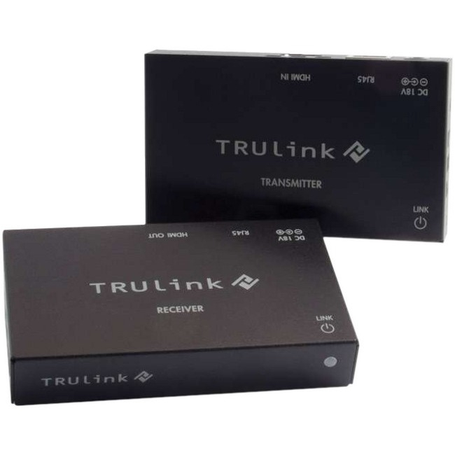 C2G TruLink HDMI over Cat5 Extender Box Transmitter to Box Receiver Kit 29210