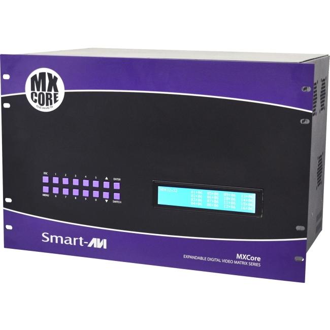 SmartAVI MXCORE Expandable HDMI 12X16 Matrix Switcher MXC-HD12X16S