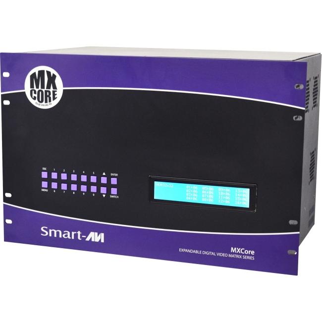 SmartAVI MXCORE Expandable HDMI 16X8 Matrix Switcher MXC-HD16X08S