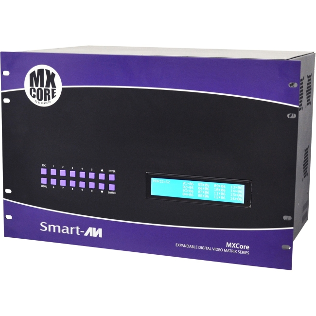 SmartAVI MXCORE Expandable HDMI 32X8 Matrix Switcher MXC-HD32X08S