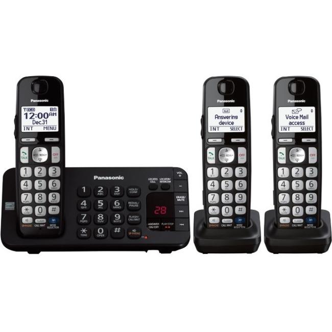 Panasonic Trio Cordless Phone KX-TGE243B