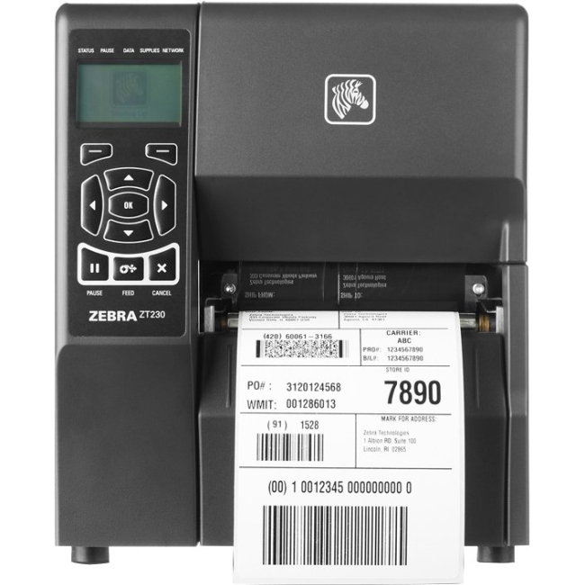 Zebra Industrial Printer ZT23043-T31200FZ ZT230