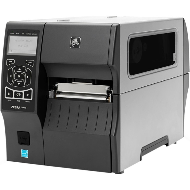 Zebra ZT400 Label Printer ZT41042-T210000Z ZT410