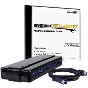 Kanguru Copy Pro USB3.0 With USB3.0 Hub KCP-U3