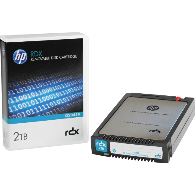 HP RDX 2TB Removable Disk Cartridge Q2046A