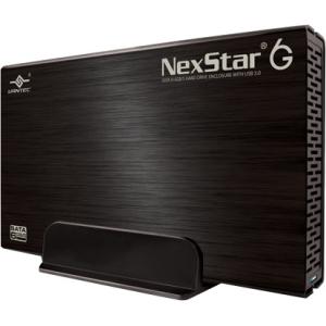 "Vantec NexStar 6G 3.5"" SATA III 6 Gbp/s to USB 3.0 External Hard Drive Enclosure NST-366S3"