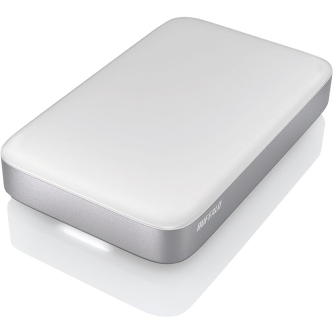 Buffalo MiniStation Thunderbolt Portable Bus-Powered Thunderbolt Drive / USB 3.0 Storage HD-PA2.0TU3