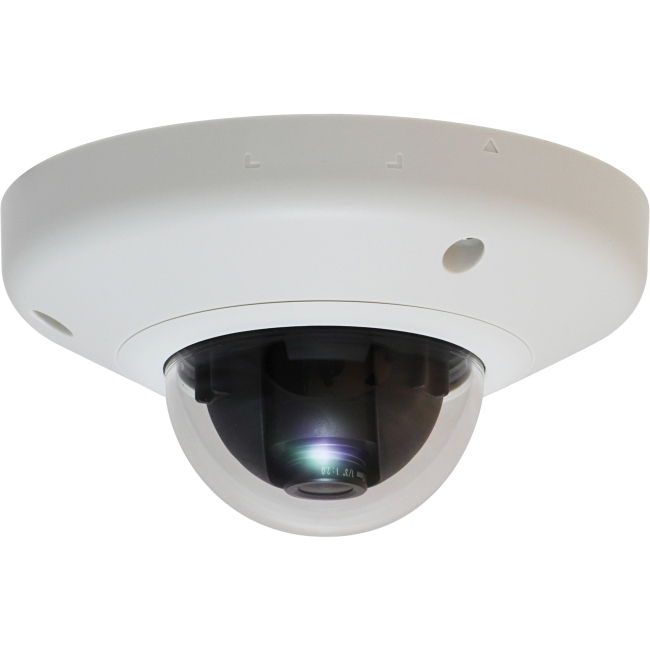 LevelOne Fixed Dome Network Camera, 5-Megapixel, PoE 802.3af, WDR FCS-3065