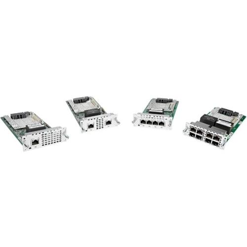 Cisco 1 port Multi-flex Trunk Voice/Clear-channel Data T1/E1 Module NIM-1MFT-T1/E1