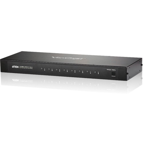 Aten 8-Port VGA Switch with Auto Switching VS0801A