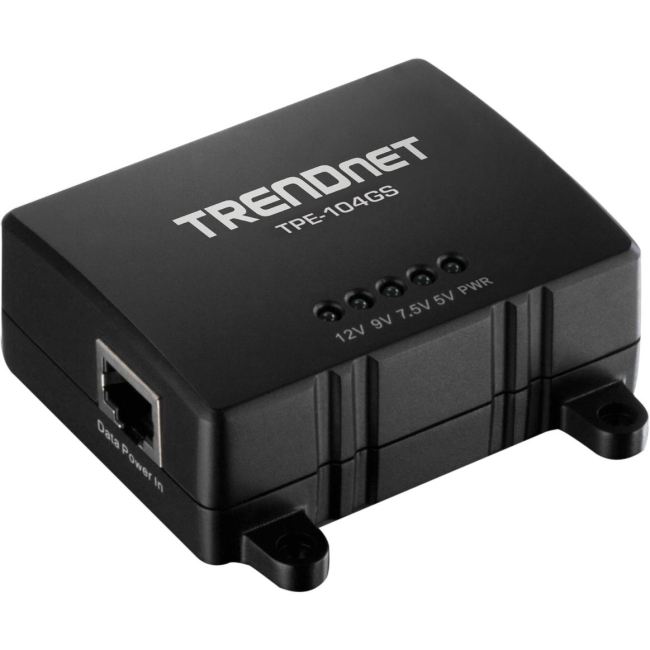 TRENDnet Gigabit PoE Splitter TPE-104GS