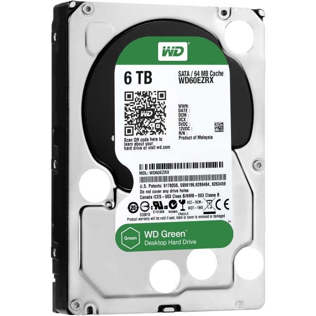 Western Digital Green Hard Drive WD60EZRX
