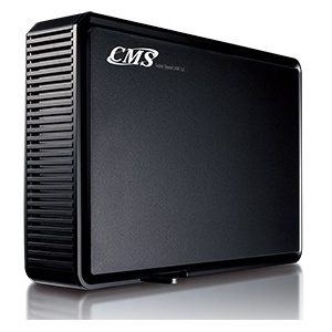 CMS Products ABSplus USB 3 Desktop Backup and Instant Recovery Drive BB3D-2TB