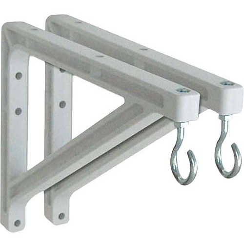 Draper 10 or 14 in Wall Brackets (White) 227214