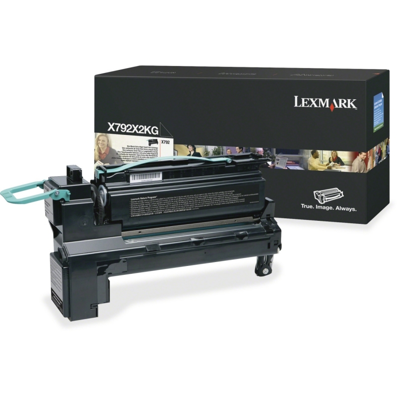Lexmark High Yield Toner Cartridge X792X2KG LEXX792X2KG