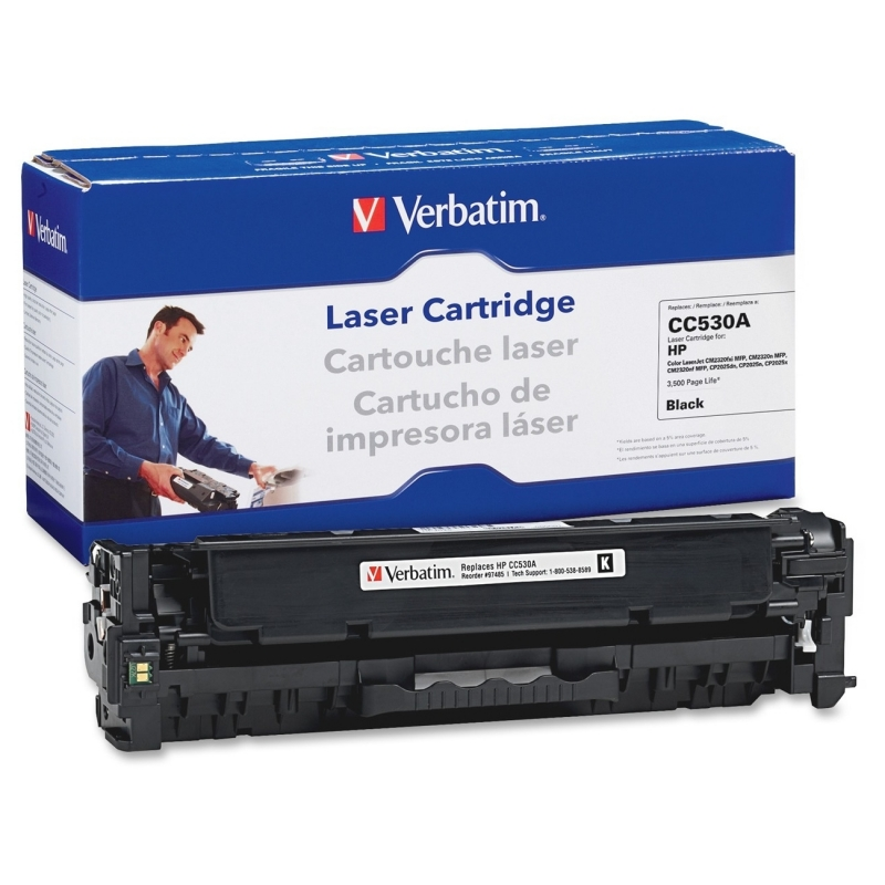 Verbatim Remanufactured Toner Cartridge Alternative For HP 304A (CC530A) 97485 VER97485