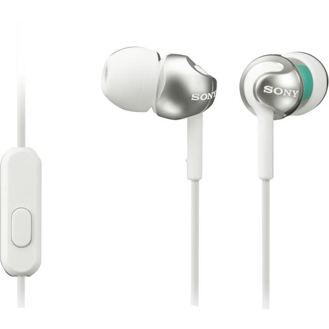 Sony EX Monitor Headphones (White) MDREX110APW