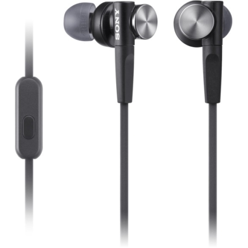 Sony Extra Bass Earbud Headset MDRXB50APB MDR-XB50AP/B