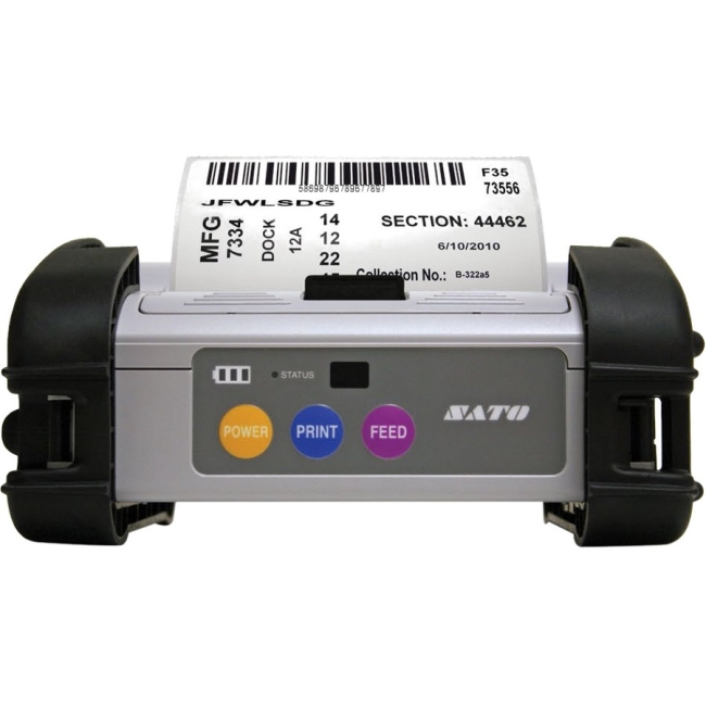 "Sato MB4i | 4"" Mobile Thermal Printer WWMB64080 MB410i"