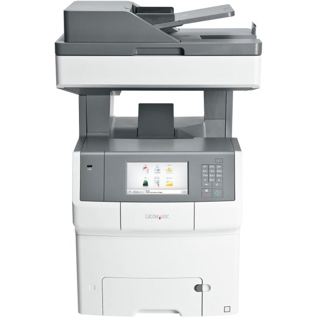 Lexmark Color Laser MFP Government Compliant CAC Enabled 34TT041 X748DE