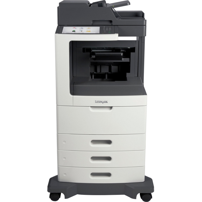 Lexmark Multifunction Laser Printer with Offset Stacker 24TT157 MX810DE