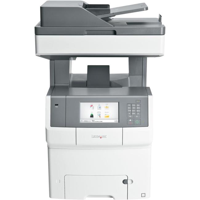 Lexmark Color Laser MFP Government Compliant CAC Enabled 34TT042 X748DE