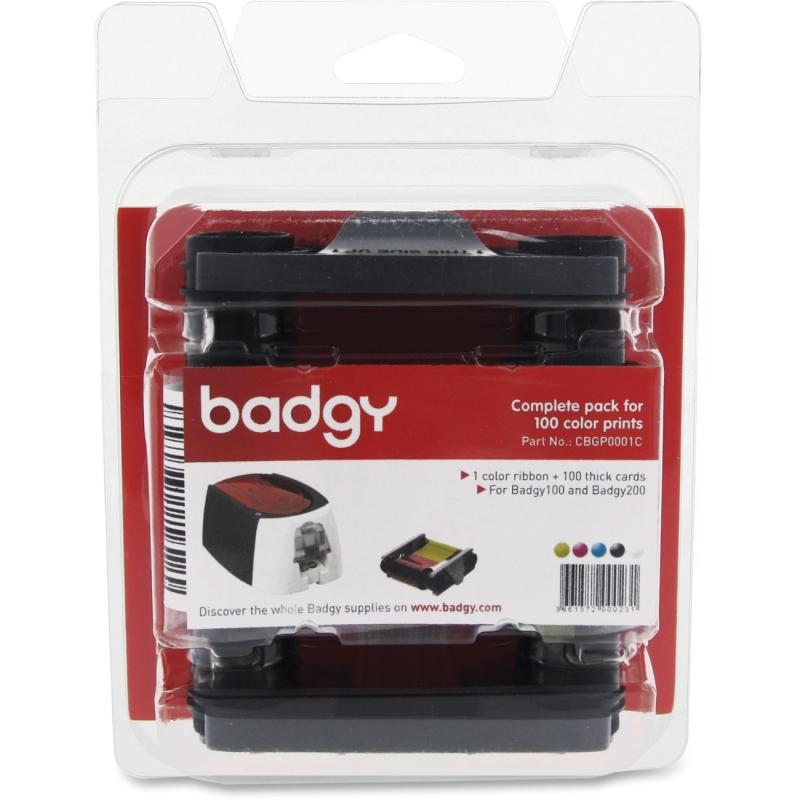 Evolis Ribbon/Paper Kit CBGP0001C BDGCBGP0001C